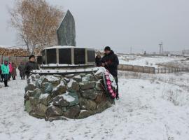 Памятник растрелянным участникам восстания в с.Зилаир. Источник: http://www.orinfo.ru/116128/den-pamyati-repressirovanyh-krestyan-orskogo-uezda
