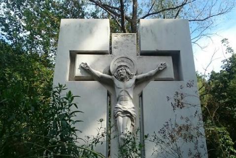 Памятник уфимцам – жертвам политических репрессий на Сергиевском кладбище Уфы